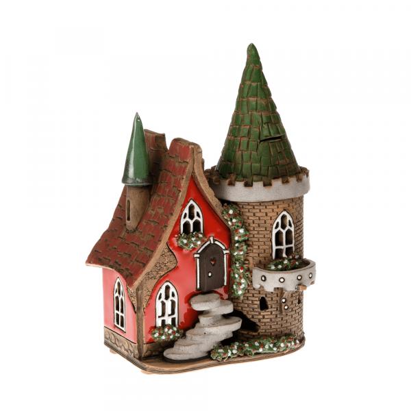 Ceramic candle house/Aroma diffusor B004