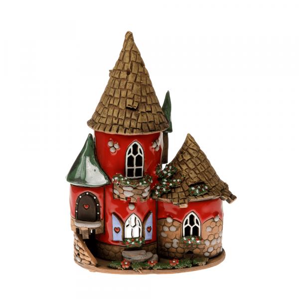 Ceramic candle house/Aroma diffusor B005
