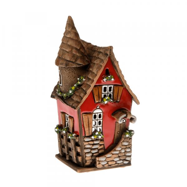 Ceramic candle house/Aroma diffusor B010