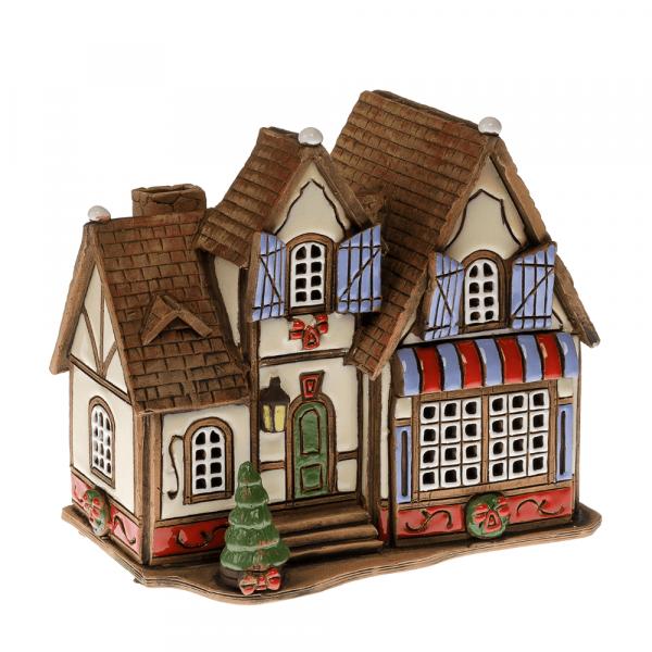 Ceramic candle house/Aroma diffusor B051