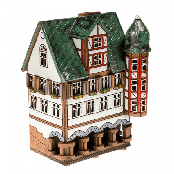 Ceramic candle house/Aroma diffusor D021