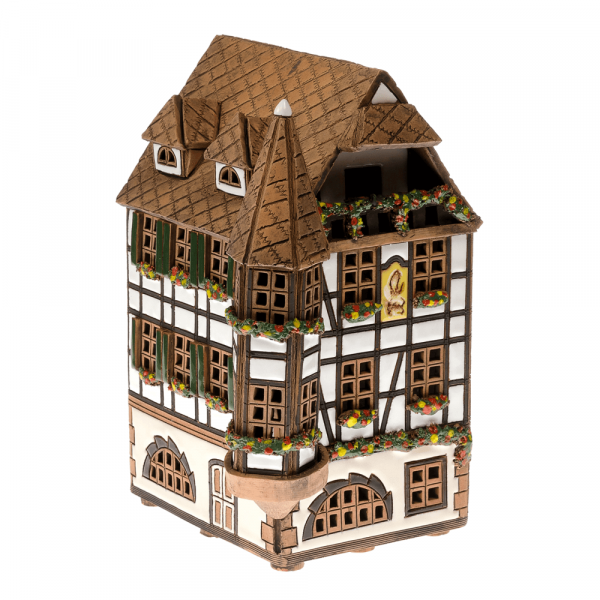Ceramic candle house/Aroma diffusor D032