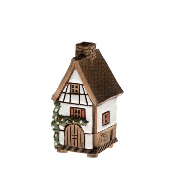 Ceramic house/incense burner N002