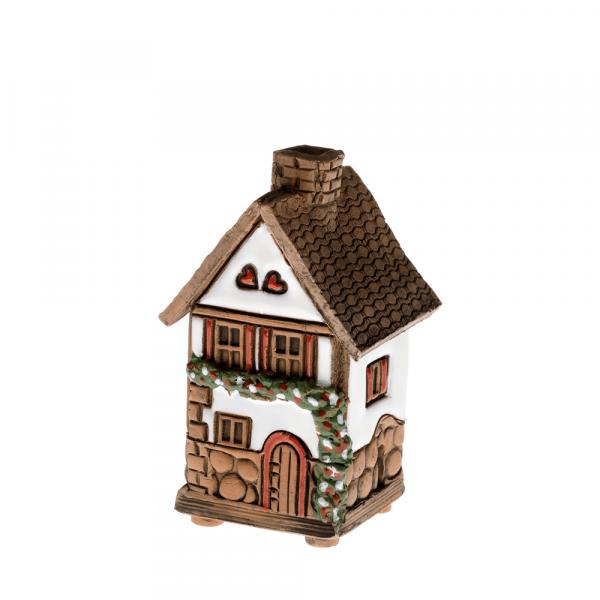 Ceramic house/incense burner N004