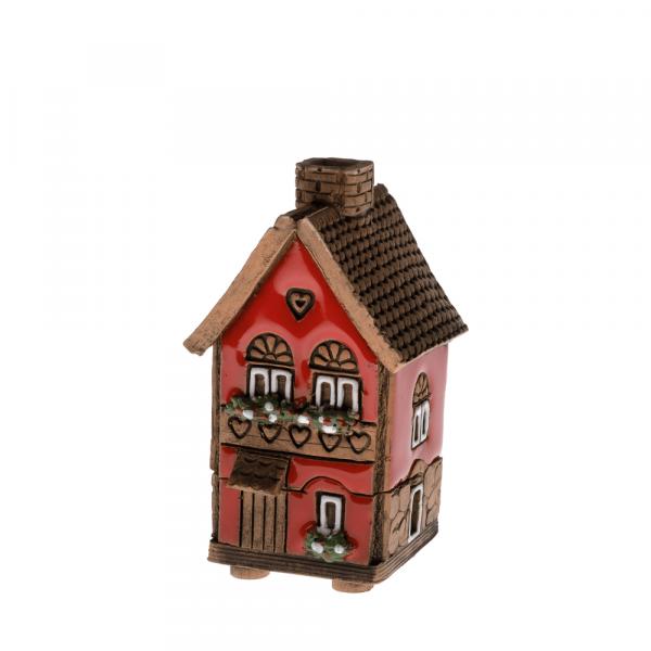 Ceramic house/incense burner N006