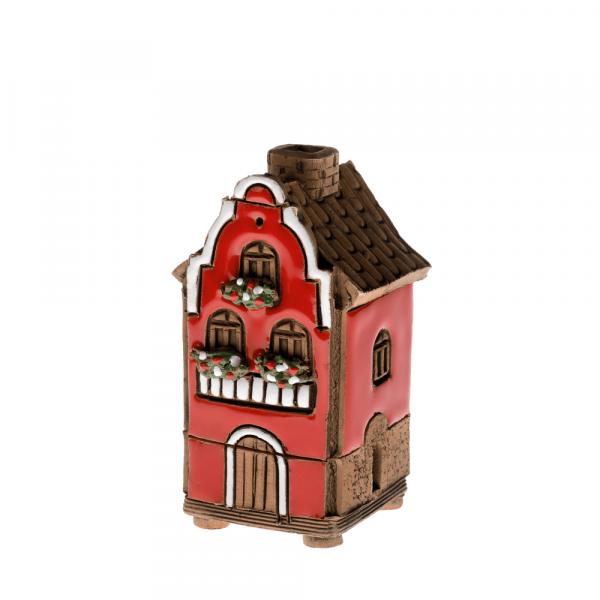 Ceramic house/incense burner N010